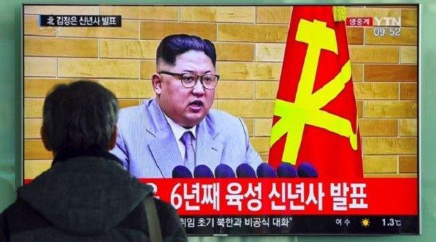 Kuzey Kore liderinden şok tehdit: Nükleer silah düğmesi masamda!