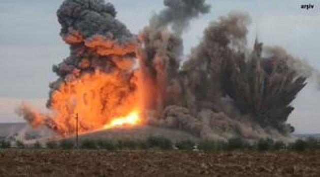 ABD, Rakka'da PKK/PYD'yi bombaladı: 40 ölü