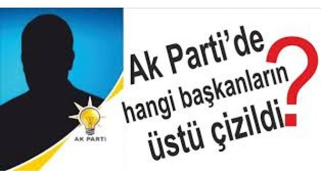 AKP'de kimlerin üstü çizildi
