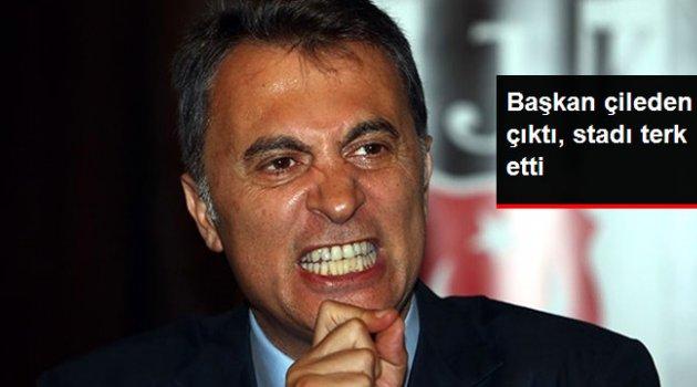 Beşiktaş Başkanı Orman, Kasımpaşa Maçının 65. Dakikasında Stattan Ayrıldı