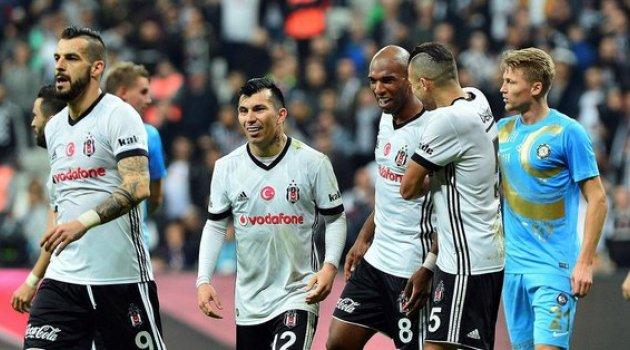 Beşiktaş Osmanlıspor maçı alkışlar Karakartala 5-1