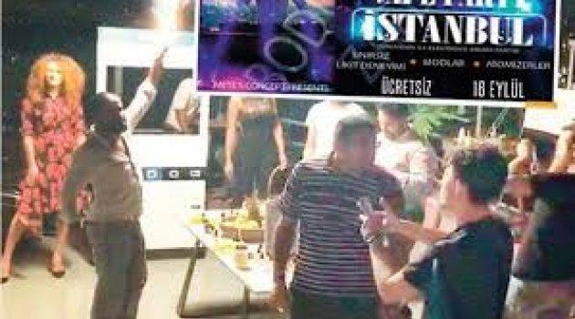 Beyoğlu'nda 'sınırsız elektronik sigara' partisine baskın! 800 kişiye ceza