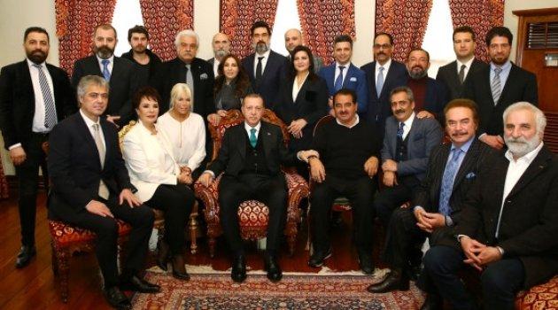 Doğum günü için gitmişlerdi! Erdoğan iki sanatçıyı uyardı