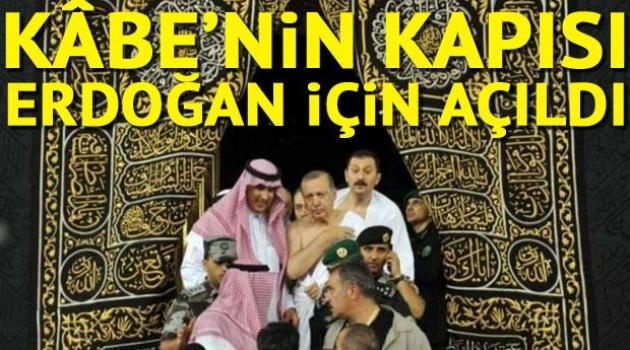 Erdoğan Umre yaptı, Akar ve Fidan eşlik etti