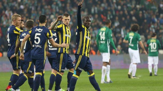 Fenerbahce 1 Bursaspor 1