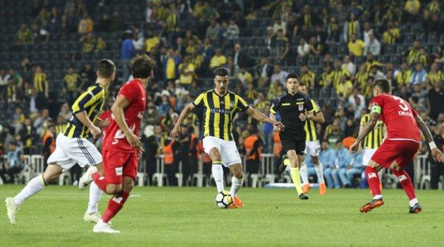 Fenerbahçe-Antalyaspor'u 4-1 maglup etti