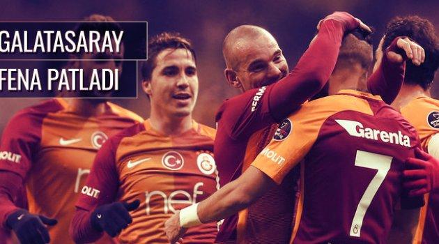Galatasaray 6-0 Akhisar Belediyespor