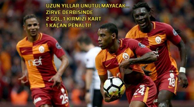 Galatasaray Beşiktaş'ı 2-0 maglup etti
