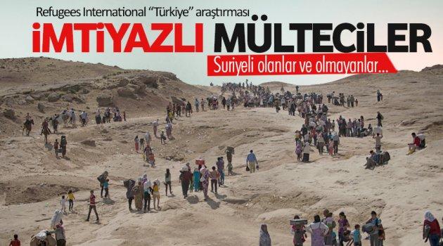 İmtiyazlı mülteciler!