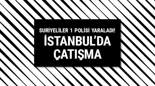 İstanbul Aksaray'da silahlı çatışma çıktı! Yaralılar var!