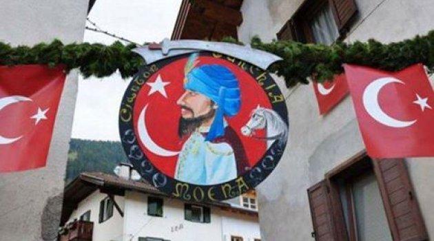 İtalya'daki Türk köyü: Moena.