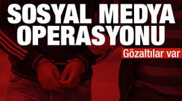 Jandarma'dan son dakika sosyal medya operasyonu