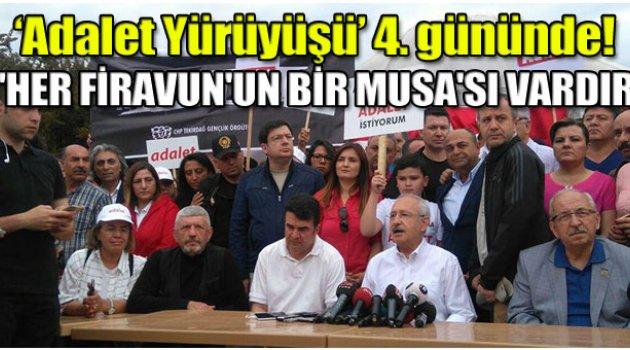 Kılıçdaroğlu'ndan Erdoğan'a sert yürüyüş cevabı!