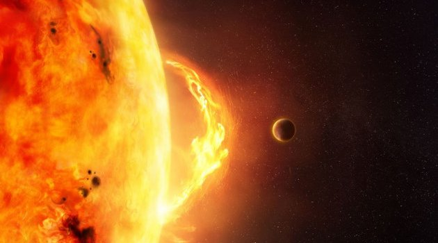 Merkür Güneş'in tam kalbinde!