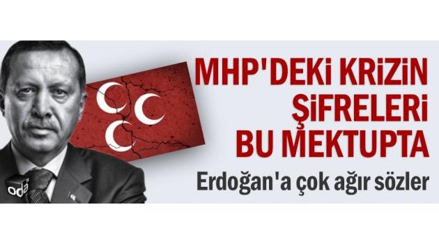MHP'deki krizin şifreleri bu mektupta