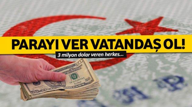 Parayı ver vatandaş ol!