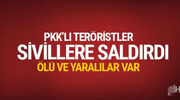 PKK'lı teröristler bu kez şantiye bastı