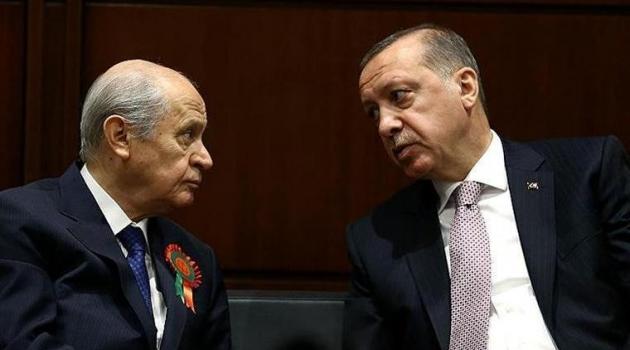 Saray ittifakında MHP itirafı: Ortak kötü durumda!