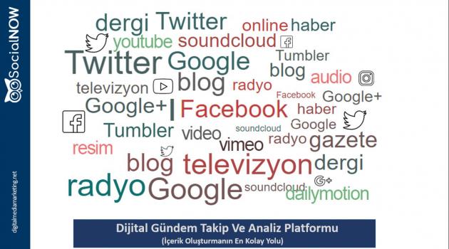 SocialNOW: Trend Konular İçin Geliştirilmiş Gerçek Zamanlı Arama Motoru