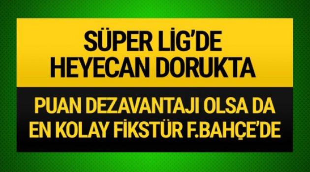 Süper Lig'de heyecan dorukta