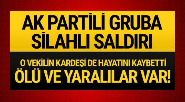 Suruç'ta AK Partililere saldırı!