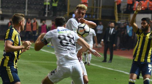 Teleset Mobilya Akhisarspor - Fenerbahçe: 1-0