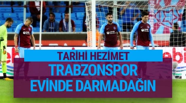 Trabzonspor 1 - Akhisarspor 6