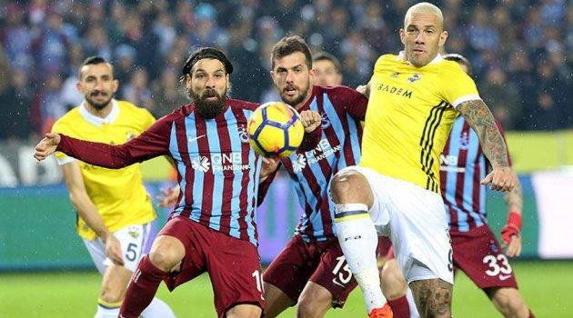 Trabzonspor Fenerbahçe 1-1