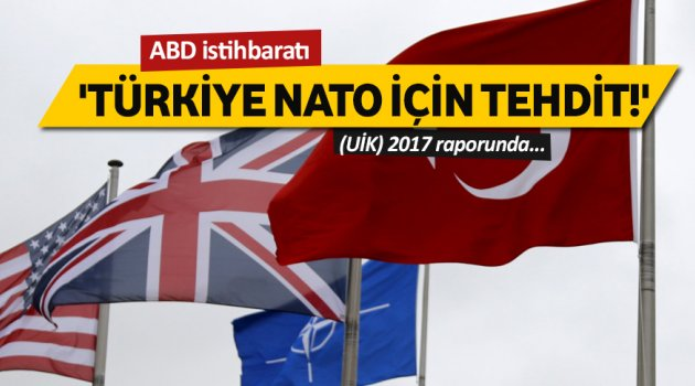 'Türkiye NATO için tehdit!'