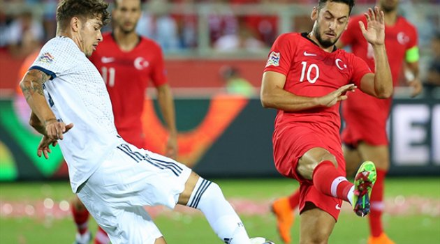 Türkiye-Rusya'ya 2-1 maglup oldu