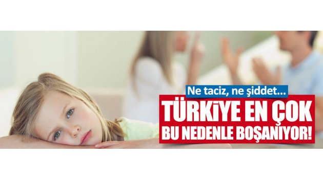 Türkiye'de boşanma nedenleri