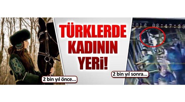 Türkler de kadın