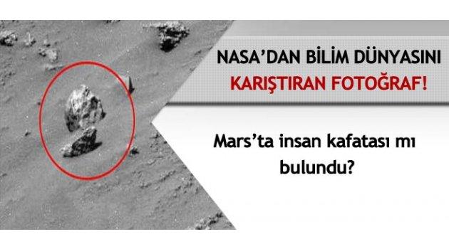 'Mars'ta kafatası bulundu' iddiası!