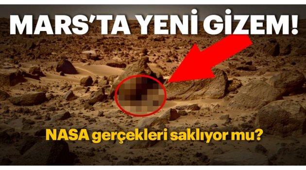 Mars'ta saklanan gercekler mi var