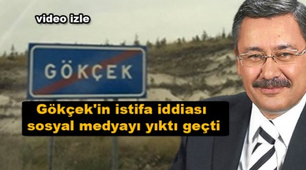 Melih Gökçek'in istifa iddiası sosyal medyayı sallıyor!