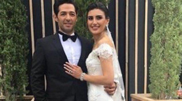 Mert Fırat ile İdil Fırat evlendi! İşte düğünden ilk görüntüler...
