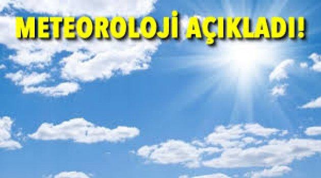 Meteoroloji'den hafta sonu için uyarı