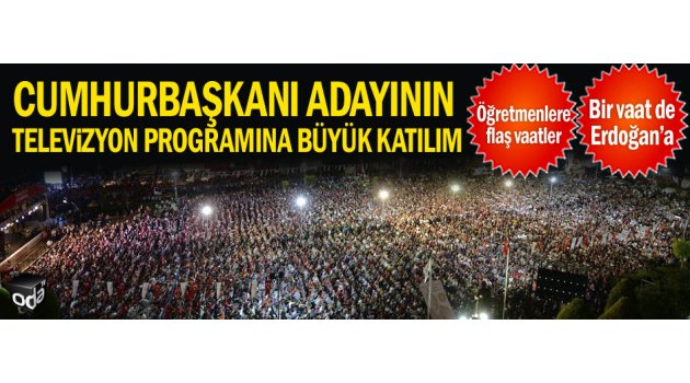 Muharrem İnce, Halk TV canlı yayınında