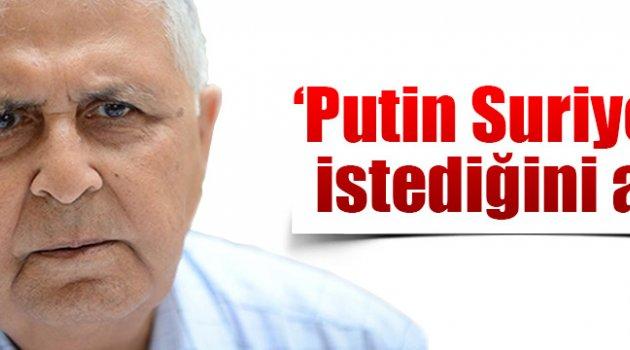 Putin Rusya'da işini hal etti