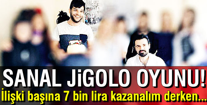 Sanal jigolo sitesiyle yüzlerce erkeği tuzağa düşürdüler