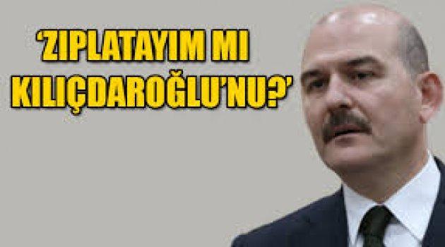 Soylu'dan 'Man Adası' yorumu: 'Zıplatayım mı Kılıçdaroğlu'nu?'
