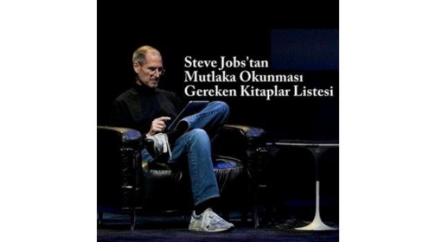 Steve Jobs'tan Okunması Gereken 14 Kitap Tavsiyesi