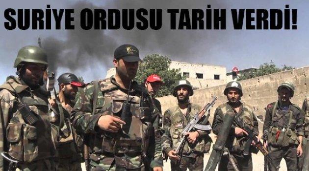 Suriyeli komutan: Ordu Palmira yakınlarında ilerliyor