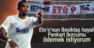 Saumel Eto'o Beşiktaş'a mesaj gönderdi! Son kez...