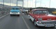 Klasik otomobillerden 30 Ağustos konvoyu