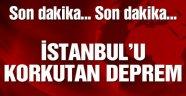 Karadeniz'de deprem İstanbul sallandı