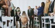 8 Yıldır Felçli Olup Düğününde Yürüyen Gelin