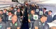 Brezilyalı futbolcuları taşıyan uçak, Kolombiya'da düştü.
