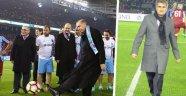 Trabzonsporlu taraftarların isyanı: Akyazı'da kulübün selâsı okundu
