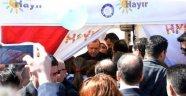 Cumhurbaşkanı Erdoğan CHP'nin 'Hayır' çadırına sürpriz ziyarette bulundu